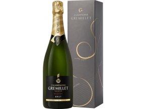 Dárkové balení Champagne Gremillet Brut Sélection 0,75 l