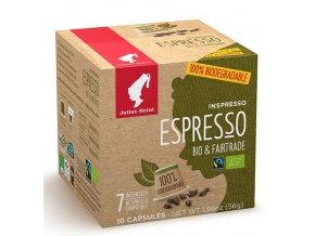 Káva Espresso Bio & Fairtrade - Inspresso kapsle 10ks Julius Meinl