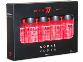 goral vodka master darcekove miniaturky 40 5x0 05l zoom 3602