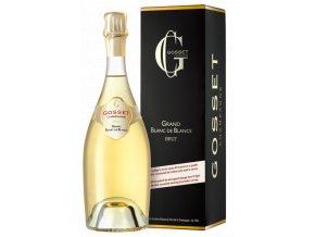 Champagne Gosset Grand Blanc de Blanc 0,75 l (karton)