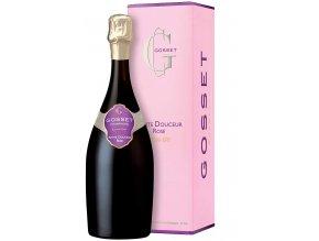 Champagne Gosset Douceur Rosé Extra Dry 0,75 l (karton)