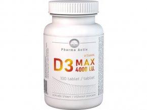 1283 vitamin d3 max 100tbl 4000 bila