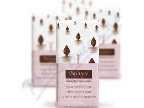 Čokoláda Balance Pochoutka mléčná s rýžovým mlékem a křupinkami bez lepku a laktózy 85g