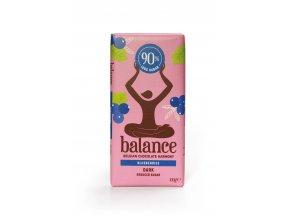 balance horka cokolada s boruvkami