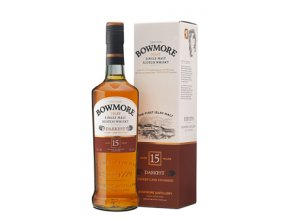 Bowmore 15 Years Darkest Islay Single Malt Scotch Whisky 0,7l v boxu