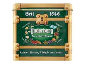 Underberg dárkové balení 12x0,02l v plechové krabičce