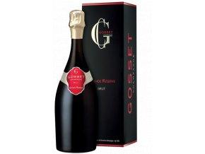 Champagne Gosset Grande Reserve Brut 0,75 l (dárkové balení 2 sklenice + stopper)