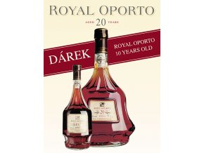 Royal Oporto 20 YO 0,7l + dárek Royal Oporto 10 YO 0,2l