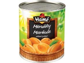 Meruňky půlené 3,8 Kg Hamé