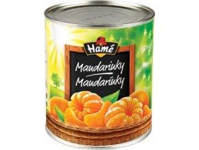 Mandarinky celé Kompot 2,7 Kg Hamé