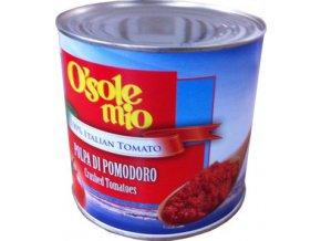 Rajčata Drcená bez slupky 2,5 Kg Osole Mio