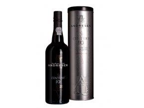 Portské víno J.H. Andresen Century 10YO White Port v plechové dóze 0,7l