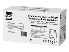 Knorr Bramborová kaše s mlékem 8 kg (4x2 kg)