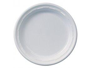 Plastový talíř mělký 20.5cm 100ks, cena za 100ks.