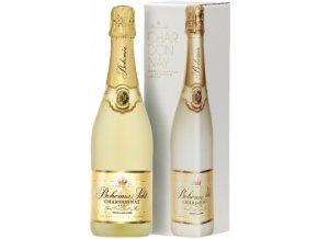Bohemia Sekt Chardonnay 0,75 l dárkové balení