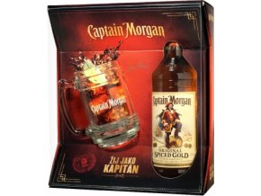 Captain Morgan Spiced 0,7 l s korbelem