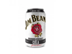 Jim Beam a Cola 0,33 l