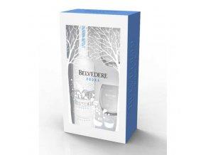Belvedere vodka, dárkové balení se skleničkami 0,7 l