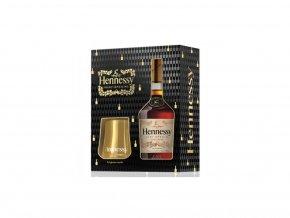 Hennessy VS se 2 skleničkami 0,7 l