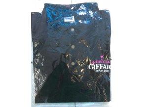 Polokošile Giffard XL UNIsex bavlna černá  doprodej