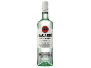 Bacardi Carta Blanca 2x1l + originální tričko