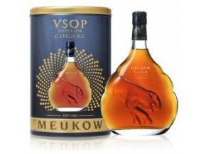 Meukow VSOP tin box 40% 0,7 l