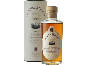 Grappa Sibona Barbera aged Sherry Wood 44% 0,5 l