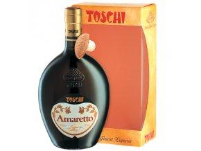 Amaretto 28% 0,7 l Toschi Box