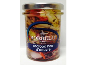 Borrelli Horse d ouvre oceano - Mořský koník se surimi a zeleninou 200g