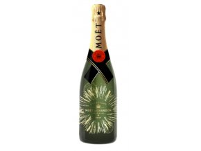 Moet Chandon Brut Impérial Bursting Bubbles bottle 0,75 l
