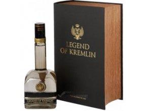 Vodka Legend of Kremlin dárkové balení kniha 0,7 l