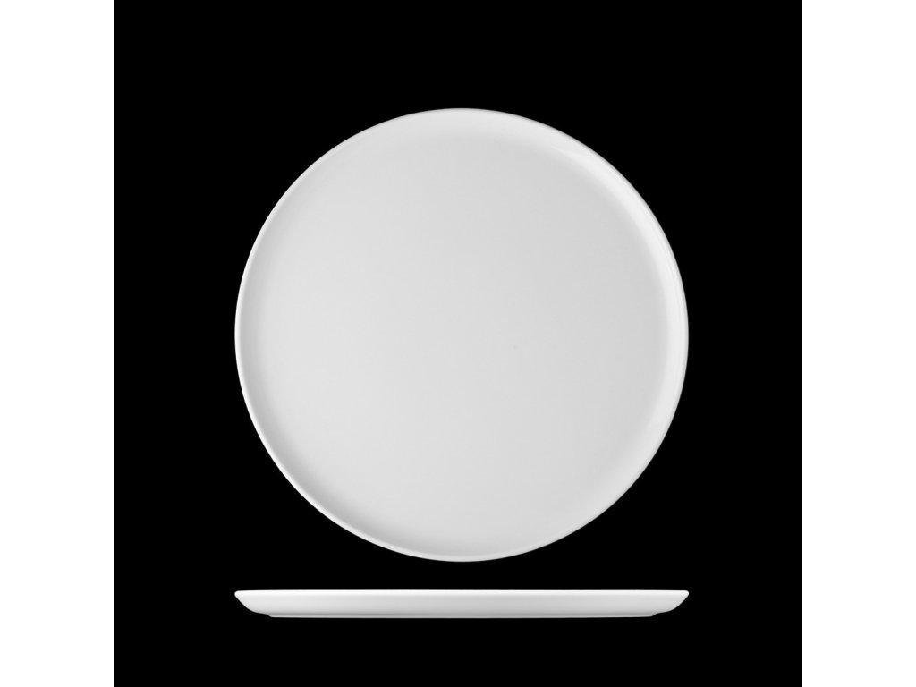 tanier plytký s rovným dnom