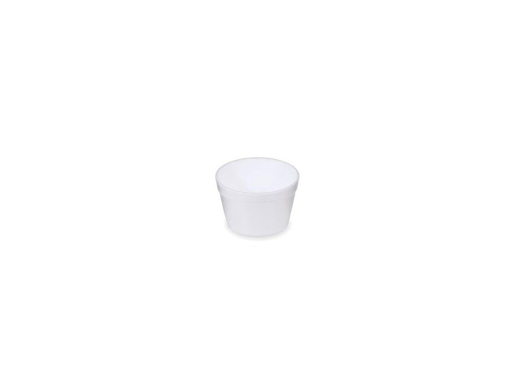 Termo-miska okrúhla biela