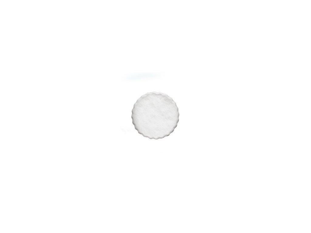 Rozetky do podšálky, biele, Ø 13 cm