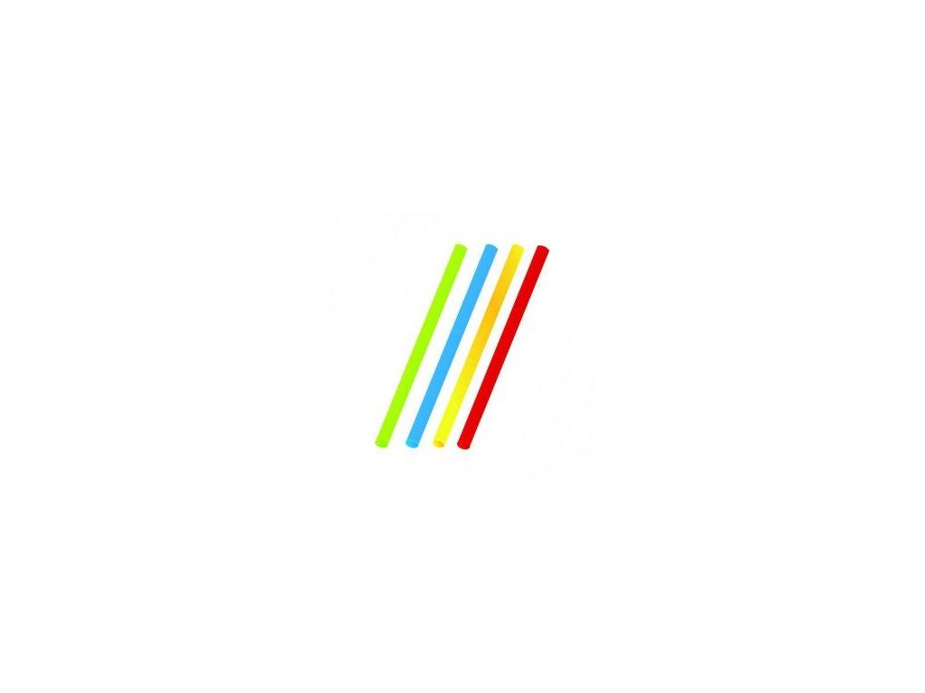 Slamky farebné mix JUMBO