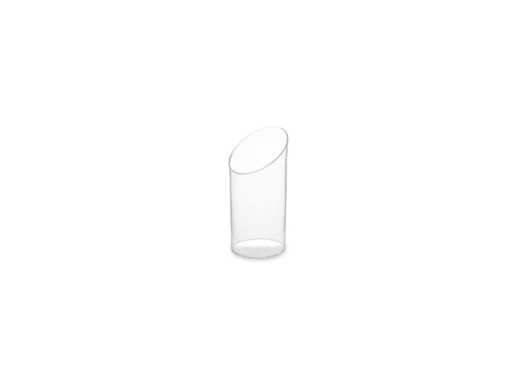 Fingerfood pohárik okrúhly, čírý, 65 ml