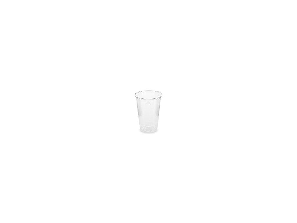 Pohár Priehľadný 0,2 L BIO PLAST