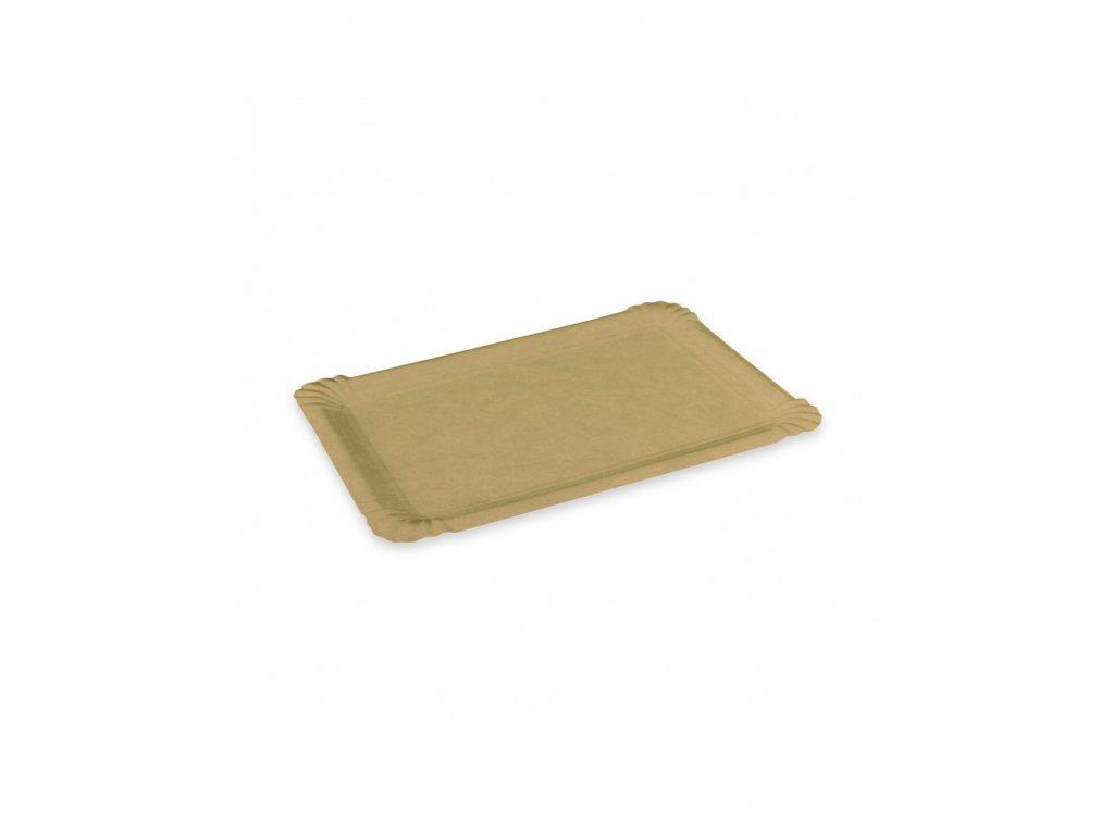 papierova tacka hneda 17 x 23 cm 250 ks