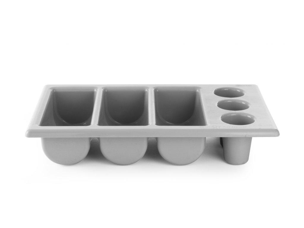 Plastový zásobník na príbory - 6 dielny