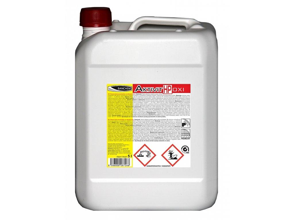 Aktivit K - kyselinový, penivý čistič 6 kg