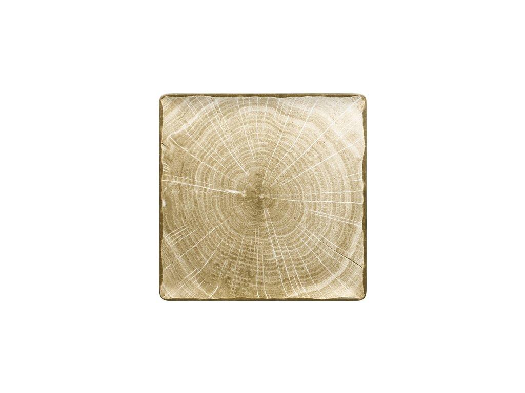 Tanier plytký štvorcový MOSS GREEN