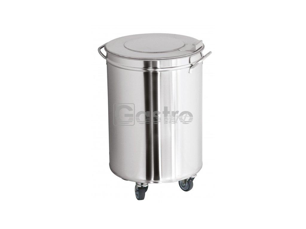 Koš s poklopem (95 litrů, ⌀450mm, v=710 mm)