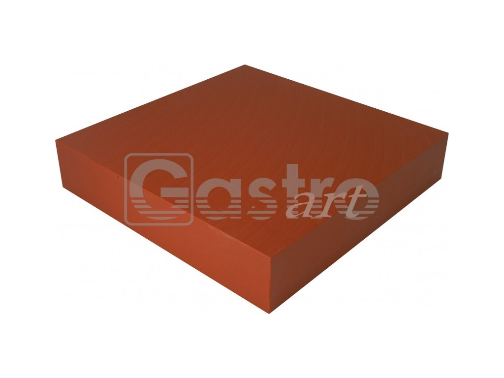 Blok 700x700x100 červenohnědý