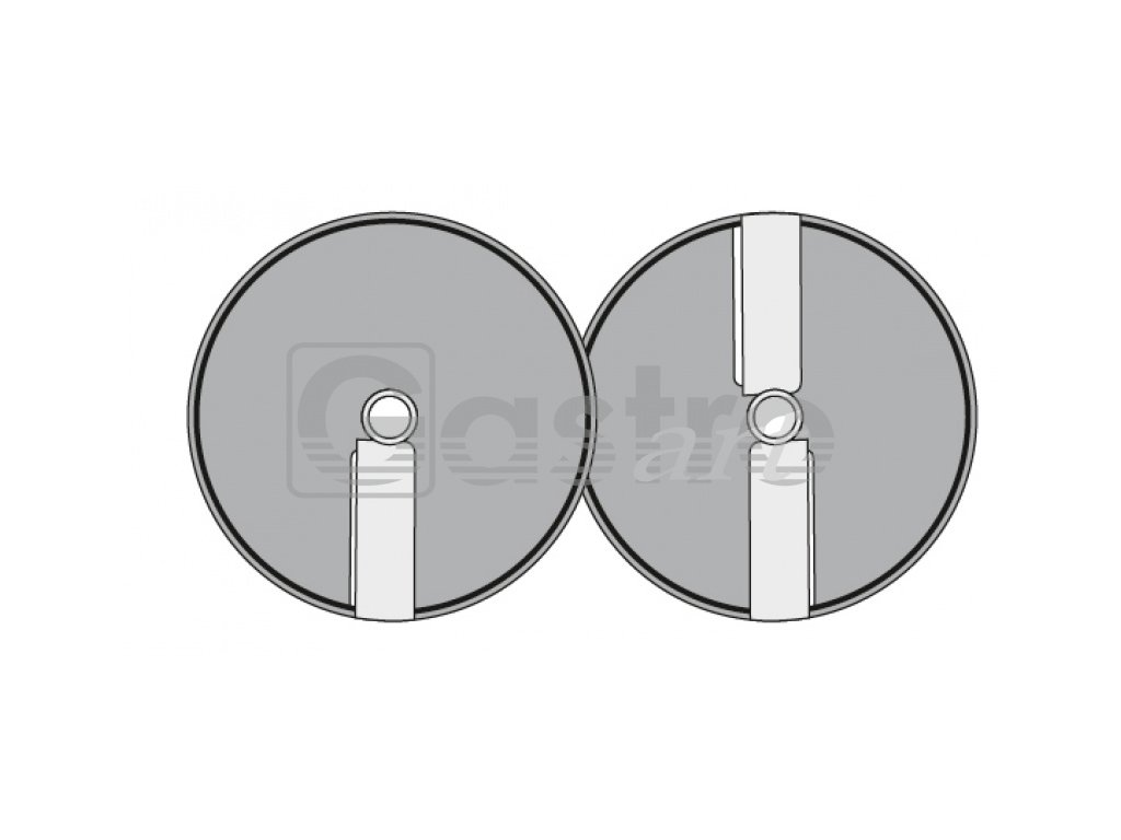 Kotouč E - 3, Φ 205 mm, řez 3 mm