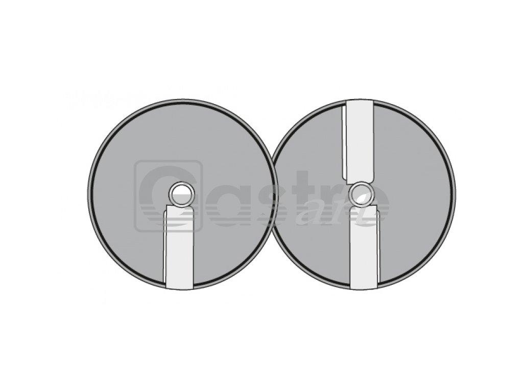 Kotouč E - 8, Φ 205 mm, řez 8 mm