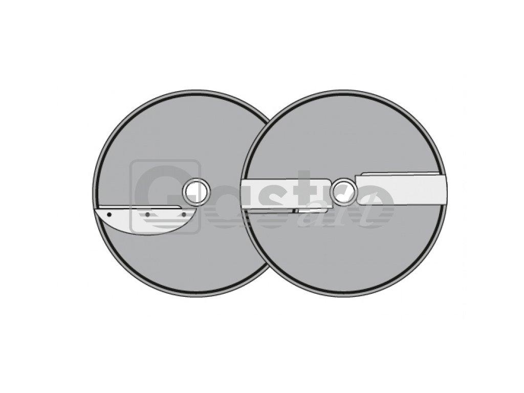 Kotouč X1 - 8, Φ 205 mm, řez 1-8 mm