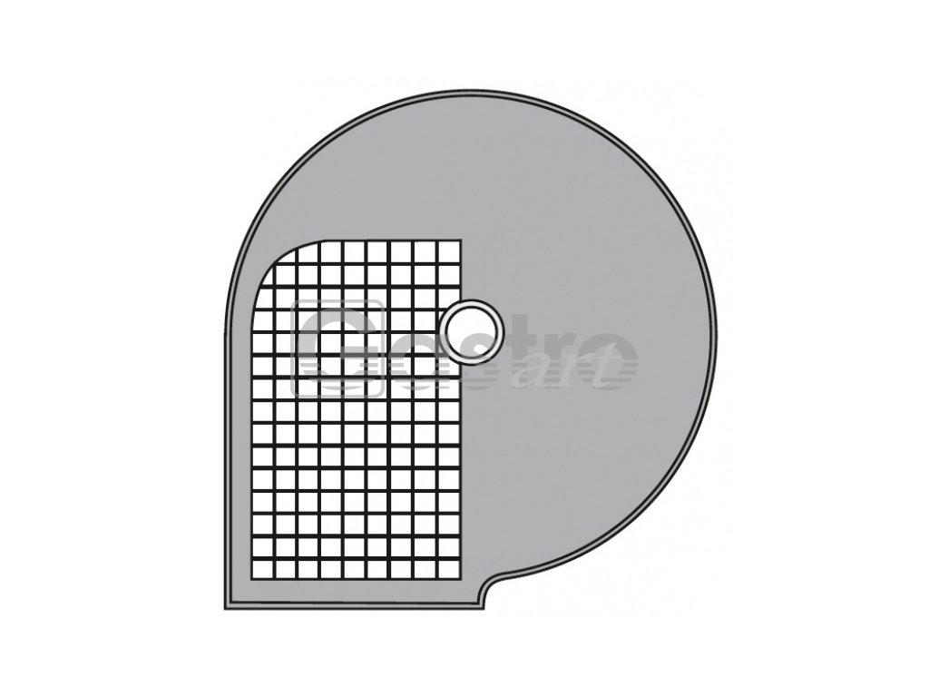 Kotouč D 12x12 Φ 205 mm, řez 12x12 mm