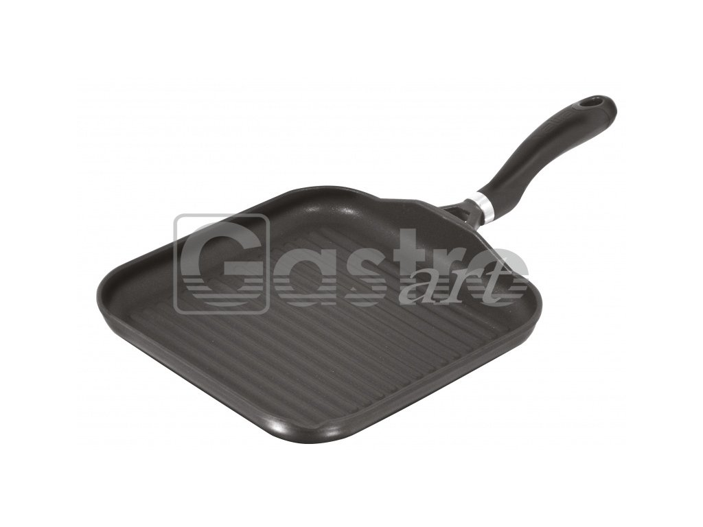 Gril. pánev (280x280 mm, v=30 mm, 1,40kg)