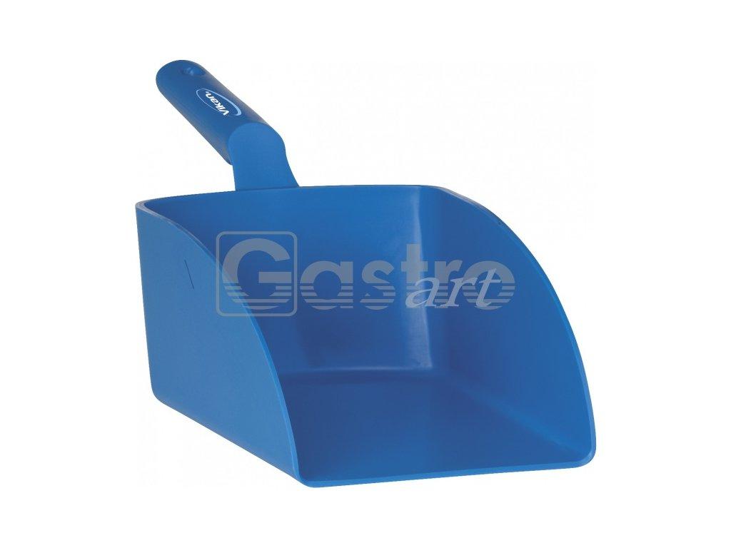 Lopatka ruční velká 2 litry - modrá