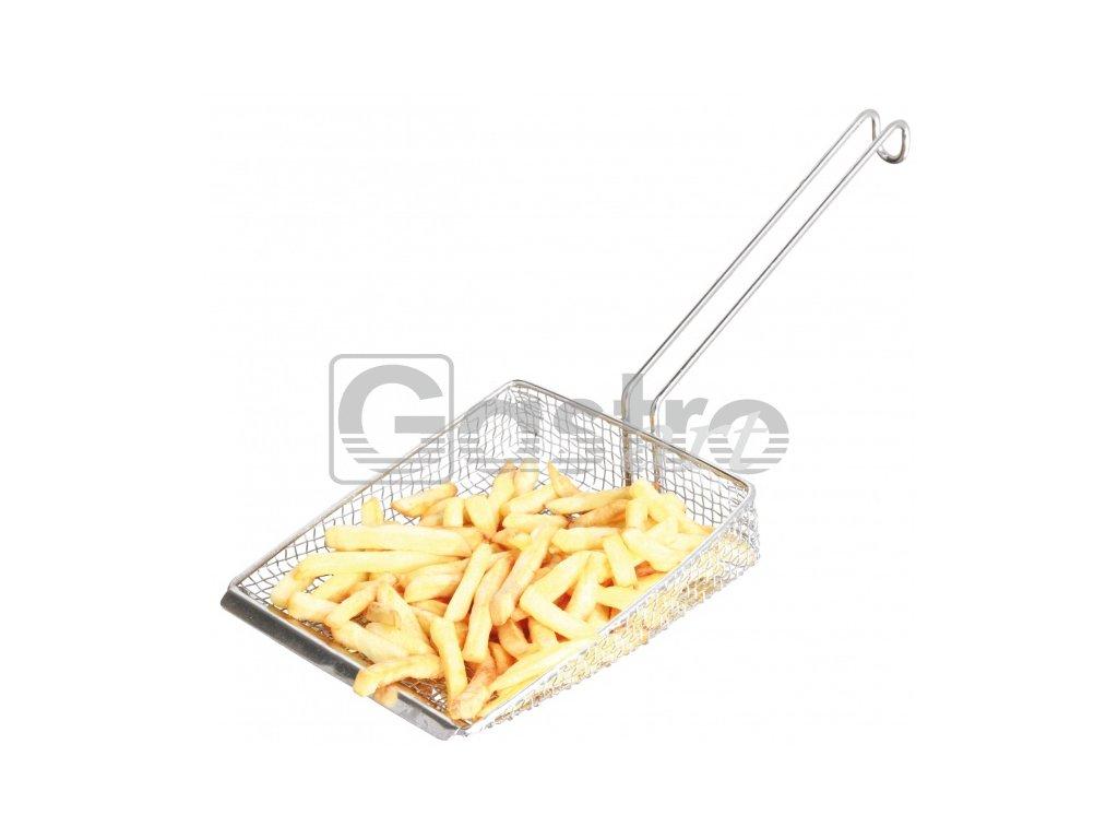 Fritovací lopatka (17x42cm) nerez